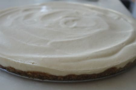 cheesecake vegan entier
