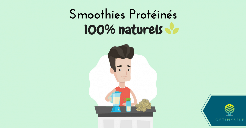 smoothie protéiné 100% naturel