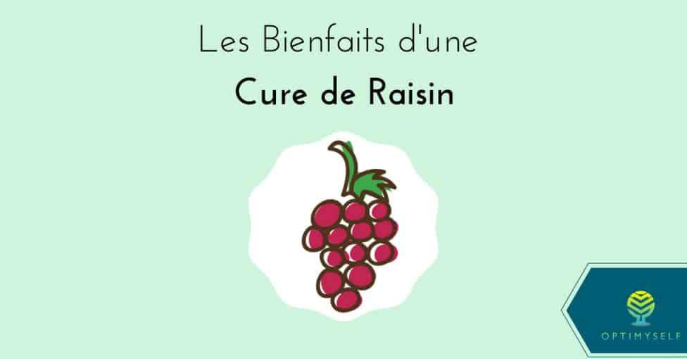 bienfaits cure de raisin